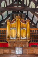 1727 organ, made for Lancaster Priory
