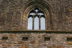 Whalley Abbey Gatehouse, First floor chapel window