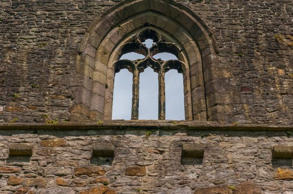 Whalley Abbey Gatehouse photo, First floor chapel window