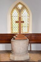 Wharram-le-Street Church, Norman tub font
