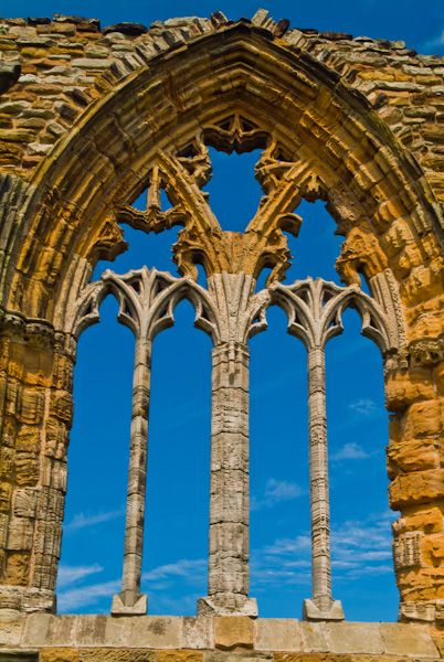 Whitby Abbey photo, East window