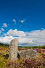 Whitehill Stone Circle, Recumbent stone with flanker