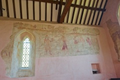 Medieval wall paintings, chancel