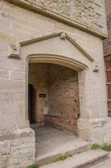 Wilderhope Manor, The entrance porch