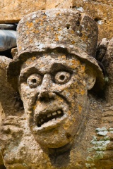 Mad Hatter grotesque, Winchcombe church