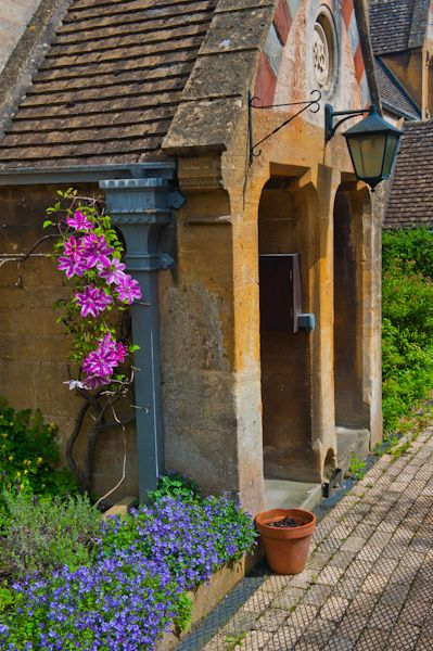 Winchcombe photo, Dent's Almshouses cottage