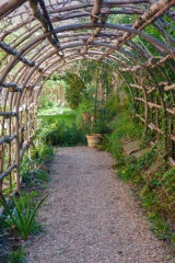 The tunnel arbour