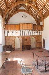 The almshouse hall