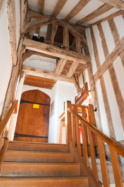 St Swithun-upon-Kingsgate Church photo, The stairs to the church