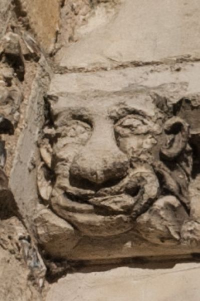 Westgate Museum photo, Grotesque carving on Westgate exterior