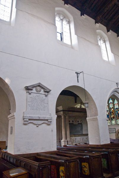 Wing, All Saints photo, Nave and north aisle