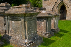 Table tombs, Winson church
