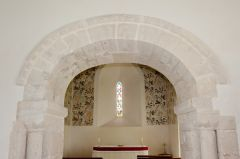 Norman chancel arch