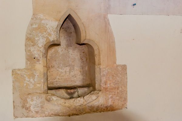Winterbourne Monkton, St Mary Magdalene Church photo, 13th century piscina