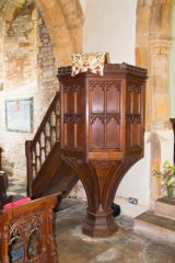 Winwick, St Michael's Church, The pulpit