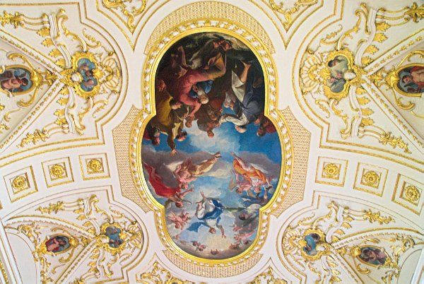 Witley Court photo, Ascension of Christ by Bellucci, Great Witley church