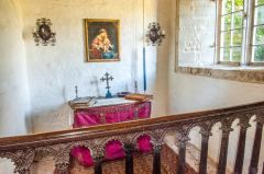 Wolfeton House, The chapel interior