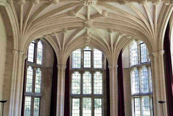 Woodchester Mansion photo, Drawing Room vaulting