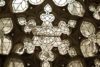 Woodchester Mansion, Rose window, Chapel