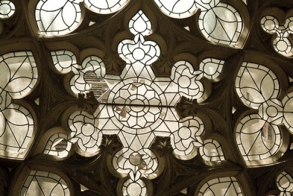 Woodchester Mansion photo, Rose window, Chapel