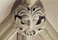 Woodchester Mansion, Green Man roof boss