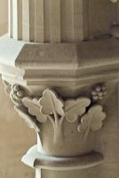 Woodchester Mansion, Carving detail