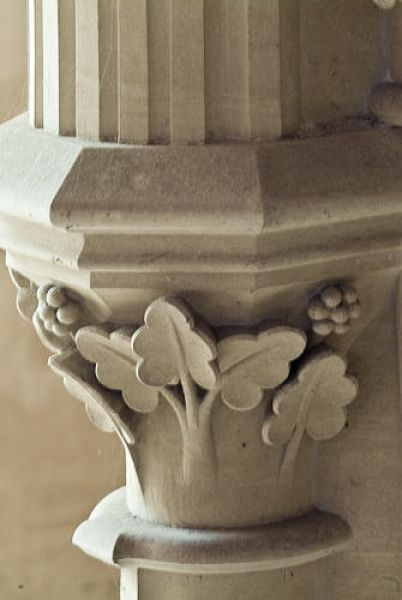 Woodchester Mansion photo, Carving detail