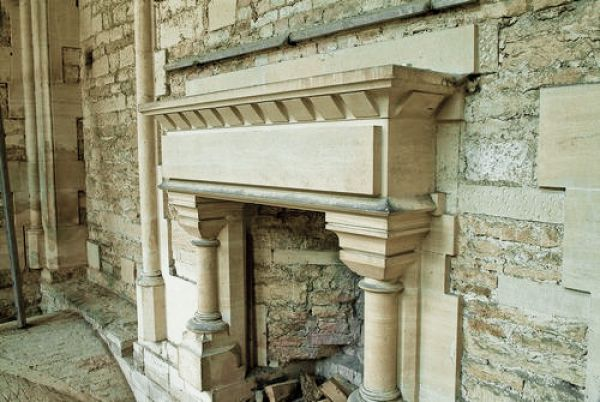 Woodchester Mansion photo, Fireplace