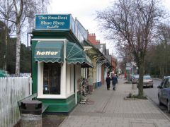 Woodhall Spa, The Smallest Shoe Shop in the World - Probably (c) Rodney Vurton
