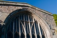 east window tracery