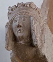Queen Phillipa carving