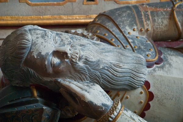 Wootton Wawen, St Peter's Church photo, Francis Smith effigy