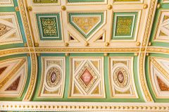 Assembly Room Italianate ceiling