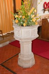 Wormingford, St Andrew's Church, The font