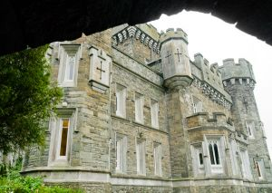 Wray Castle, View of the castle frontage