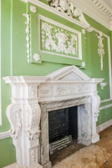 Bowling Green House fireplace