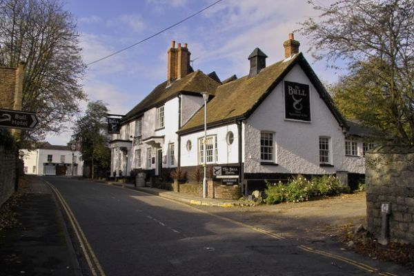 Wrotham photo, The Bull Hotel (c) Dennis Smith