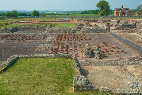 Wroxeter Roman City photo, Site overview
