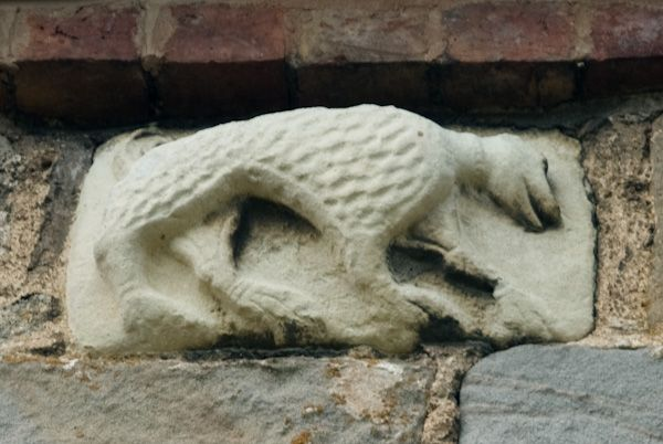 Wroxeter, St Andrew's Church photo, Saxon carving 2