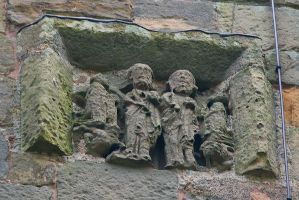Wroxeter, St Andrew's Church photo, Carving