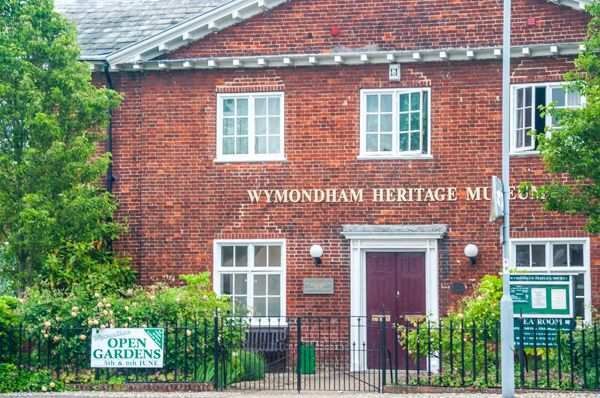 Wymondham photo, The Bridewell prison, now the heritage centre museum