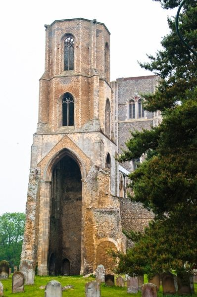 Wymondham Abbey photo, The east tower