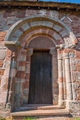 The 12th century south doorway