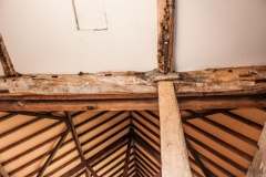 Timber roof beams