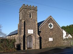 Yelverton, Yelverton Roman Catholic church (c) Tony Atkin