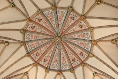 Chapter House vaulted ceiling, York Minster