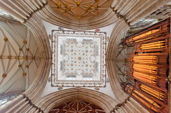 York Minster photo, The crossing tower