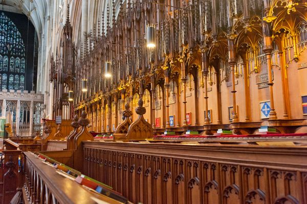 York Minster photo, The Quire