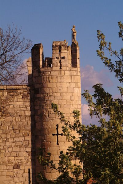 Micklegate Bar Museum photo, View from the wall walk