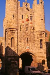 Micklegate Bar from the south